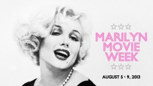 Marilyn Movie Week on VisionTV - August 5 - 9, 2013