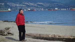 Ecstatic: Joe Helliwell, Economist who believes in promoting universal happiness and Vancouver view