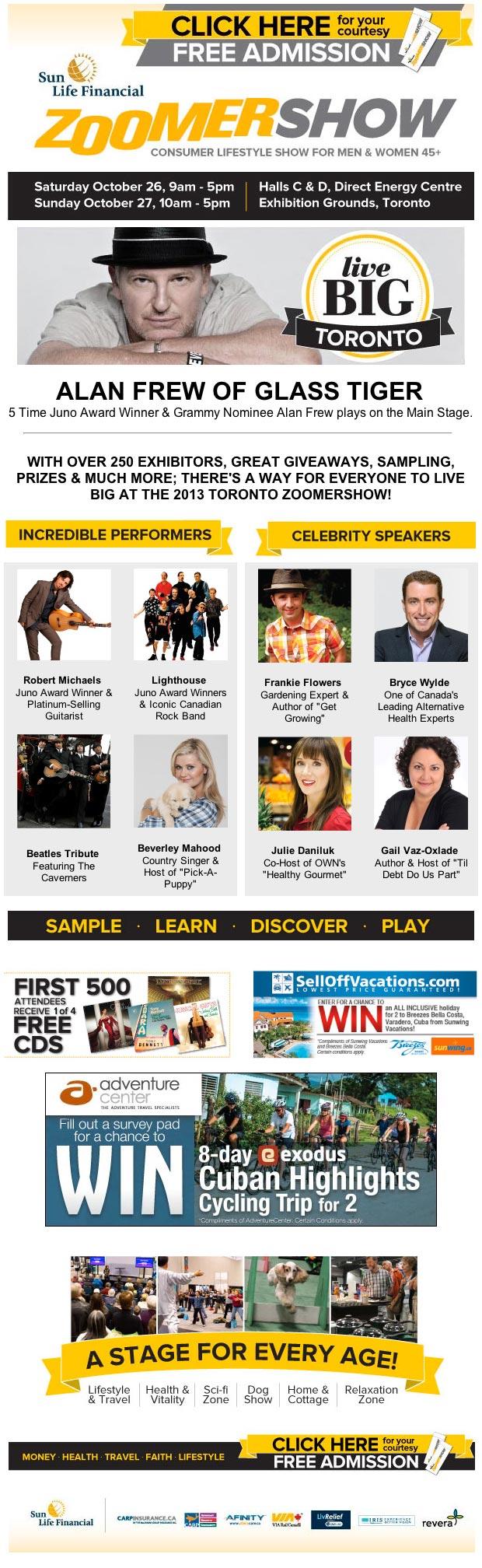 The 2013 Toronto ZoomerShow