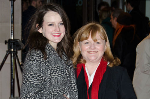 Downton Abbey: Sophie McShera (Daisy Mason) and Lesley Nicol (Mrs. Beryl Patmore)