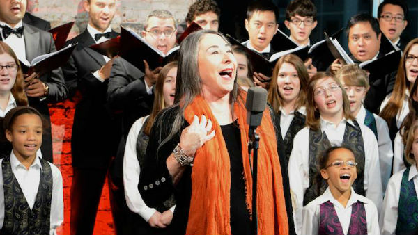 The Carols of Christmas: Marilyn Lightstone performs