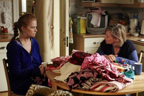 EastEnders Weekender Jan. 17: Bianca Butcher (PATSY PALMER), Carol Jackson (LINDSAY COULSON)