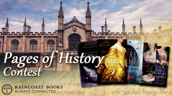 Pages of History Contest - February 2014 - Raincoast Books