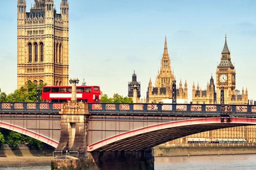 Royal Scottish Tours - London Parliament and Double Decker Bus