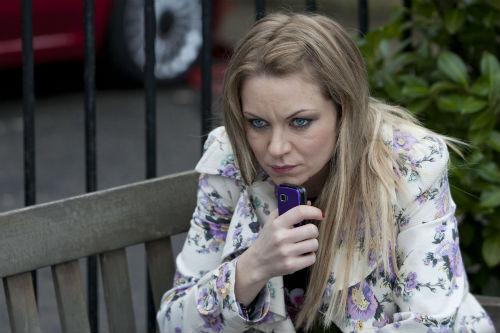 EastEnders Weekender Apr. 4: Roxy Mitchell (RITA SIMONS) Photo: Colin Hutton©BBC 2012