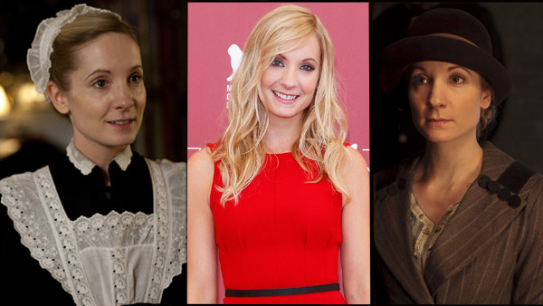 Downton Abbey Catch Up: Joanne Froggatt as Anna Bates Photos: L & R - (c) Carnival Films/ITV Centre: Graham Whitby Boot/AdMedia/KEYSTONE Press © Copyright 2013 by AdMedia