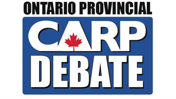 CARP Provincial Debate