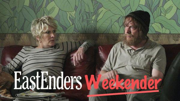 EastEnders Weekender June 23 - 27, 2014: Shirley Carter, Ian Beale (LINDA HENRY, ADAM WOODYATT)