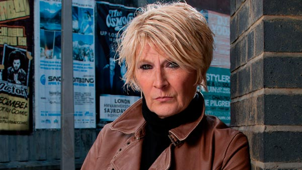 EastEnders 263: Shirley Carter (LINDA HENRY) Photo: Kierron McCarron (c) BBC 2012