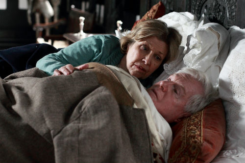 Last Tango Look Back S1E4: Celia (ANNE REID), Alan (DEREK JACOBI)  Photo: Matt Squire © Antony & Cleopatra Series Ltd. 2012