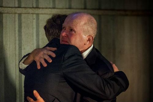 EastEnders Weekender Sept. 26: Jay Mitchell (Jamie Borthwick), Phil Mitchell (STEVE MCFADDEN) Photo: Guy Levy © BBC 2012