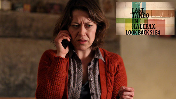 Last Tango Look Back: S1E4 : Gillian (NICOLA WALKER) receives a phone call from the Police Photo: Matt Squires (c) Antony & Cleopatra Series Ltd., 2012