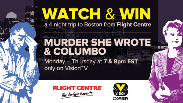 VisionTV, Flight Centre, Club Metro Investigate America Contest