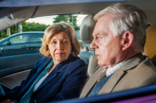 Last Tango Look Back S1E3: Celia (ANNE REID), Alan (DEREK JACOBI) Photo: Ben Blackall © Anthony and Cleopatra Series Ltd. 2013