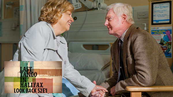 Last Tango Look Back S2E1: Celia (ANNE REID), Alan (DEREK JACOBI) Photo: Ben Blackall (c) Antony & Cleopatra Series Ltd. 2013
