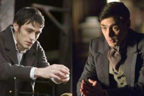 Matthew McNulty as Fisher Bloom on Lark Rise, and Mr. Dudley on The Paradise.