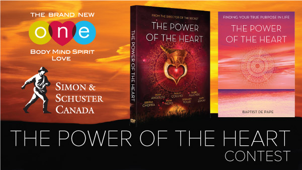 ONE's The Power of the Heart Contest - Simon and Schuster Canada