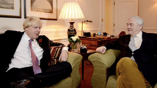 Boris Johnson - Conrad Black