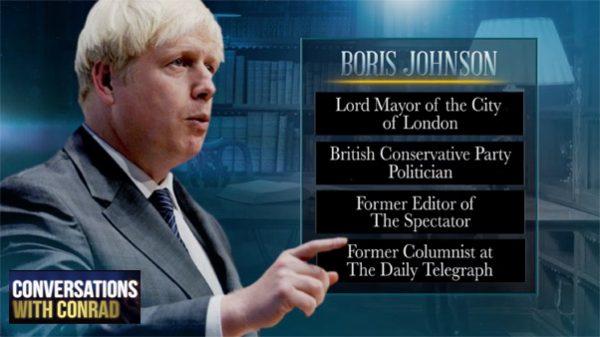 Conversations with Conrad: Boris Johnson - Bio Board