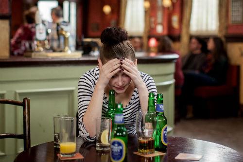 EastEnders Weekender: Lauren Branning (JACQUELINE JOSSA) Photo: Guy Levy © BBC 2013