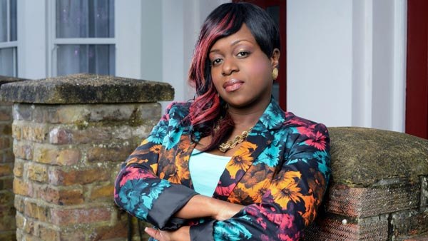 EastEnders (January 2015): Kim Fox (TAMEKA EMPSON) Photo: Kieron McCarron (c) BBC 2013