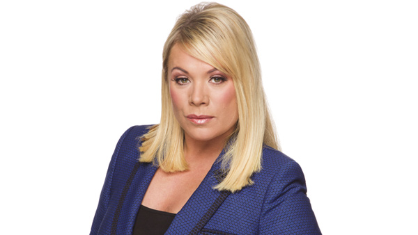 EastEnders 269: Sharon Rickman (LETITIA DEAN) Photo: Nicky Johnston (c) BBC 2013