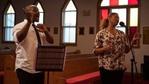 Songs of Freedom: Marko Simmonds and Measha Brueggergosman sing with Nova Scotia Mass Choir