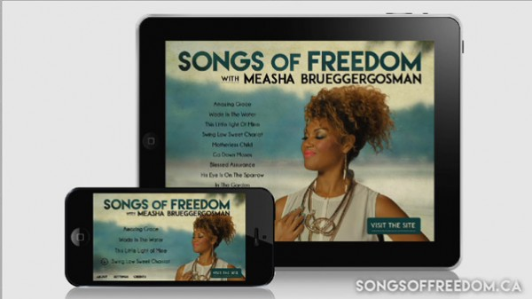 Songs of Freedom iOs App 600