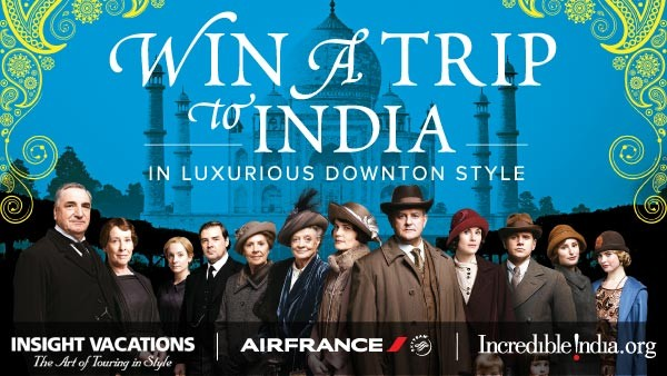 India Downton Style Watch and Win - Sponsored