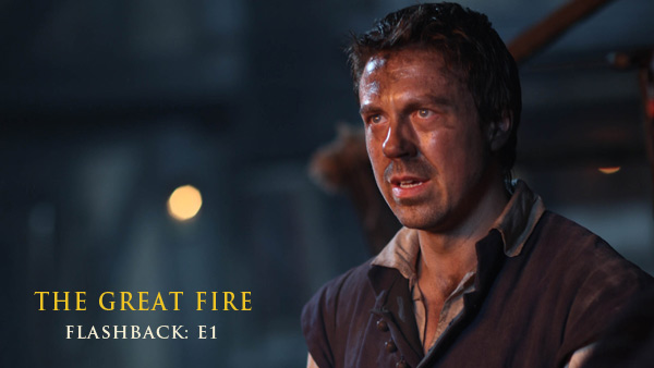The Great Fire Flashback E1: Thomas Farriner (ANDREW BUCHAN)