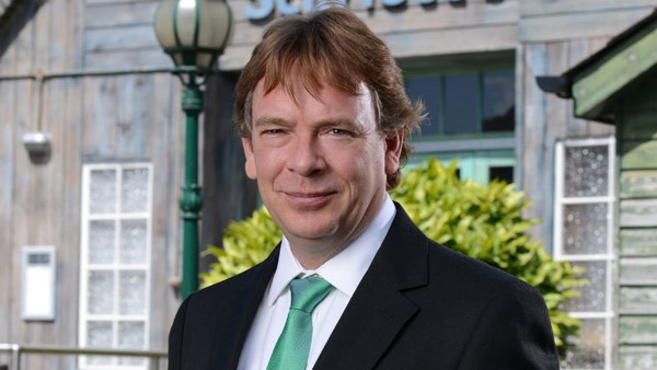 EastEnders Set 273 (April 2015): Ian Beale (ADAM WOODYATT) Photo: Kieron McCarron (c) BBC 2013