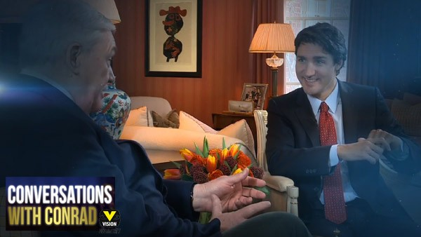 Conversations with Conrad: Justin Trudeau
