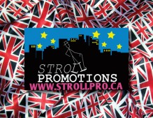 Downton In Depth Contest - Stroll Promotions Logo
