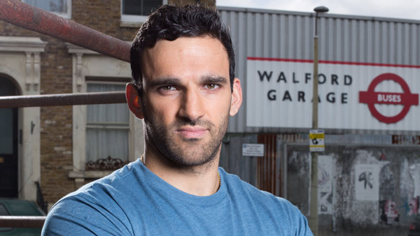 EastEnders 282 (Nov/Dec 2015): Kush Kazemi (DAVOOD GHADAMI) Photo: Jack Barnes (c) BBC 2014