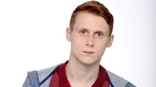 EastEnders (Set 283) Jan. 2016: Jay Mitchell (JAMIE BORTHWICK) Photo: Kieron McCarron (c) BBC 2014