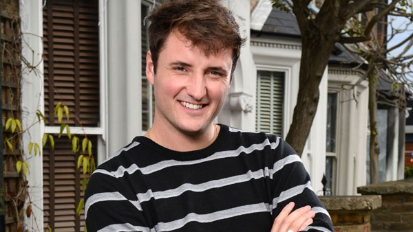 EastEnders (Set 284): Martin Fowler (JAMES BYE) Photo: Kieron McCarron (c) BBC 2014