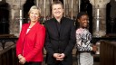 Songs of Praise: (L to R) Pam Rhodes, Aled Jones, Diane-Louise Jordan