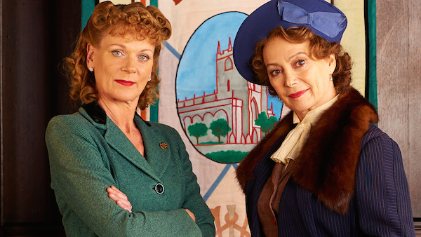 Home Fires starring Samantha Bond and Francesca Annis