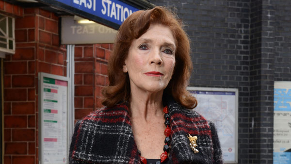 EastEnders (285) Feb. 2016: Sylvie Carter (LINDA MARLOWE) Photo: Kieron McCarron (c) BBC 2014