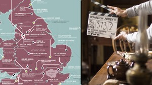 Find Everything from Downton to Poldark on the Great British Television Map - Feature Image