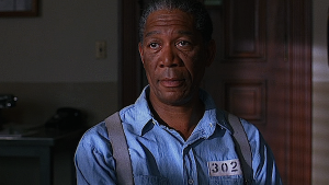 Morgan Freeman - The Shawshank Redemption