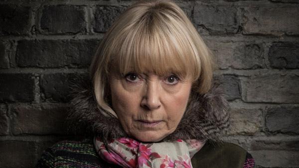 EastEnders (287): Pam Coker (LIN BLAKLEY) Photo: Kieron McCarron/Jack Barnes (c) BBC 2015