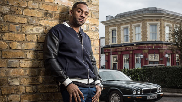 EastEnders (287): Vincent (RICHARD BLACKWOOD) Photo: Jack Barnes (c) BBC 2015