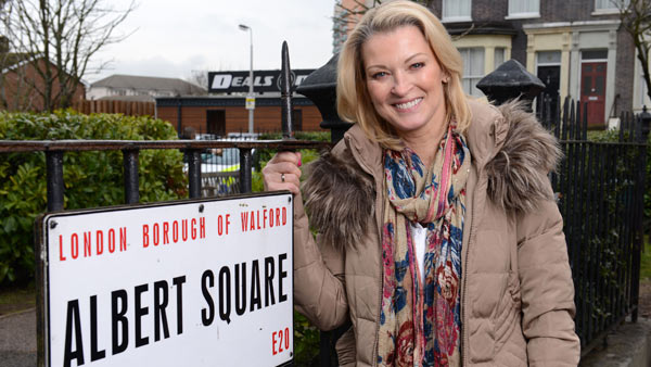 EastEnders (287): Kathy Beale (GILLIAN TAYLFORTH) Photo: Kieron McCarron (c) BBC 2015