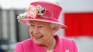 Queen Elizabeth II - Pink
