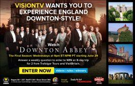 Farewell Downton Abbey Fly Away - Canada.com Splash Page