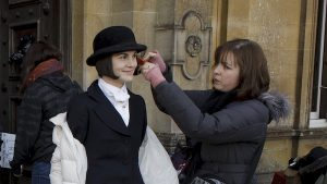 Michelle Dockery - Downton Abbey BTS