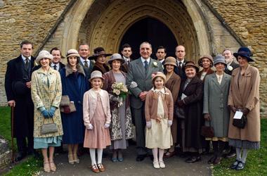 Downton Abbey S6E3: Carson - Hughes Wedding