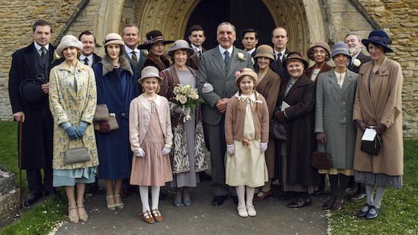 Downton Abbey S6E3: Carson Hughes Wedding