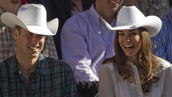 William and Kate - Canada